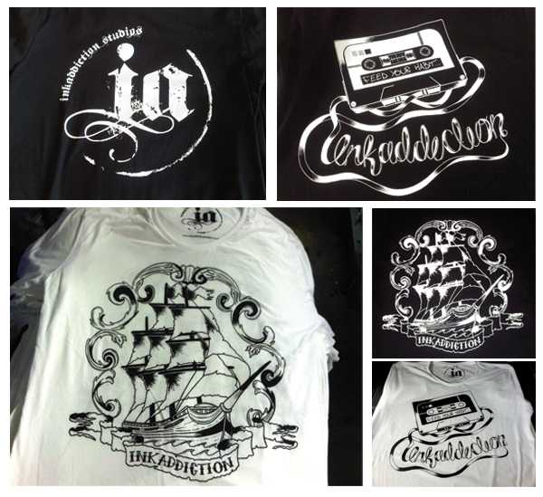Ink Addiction T-shirts