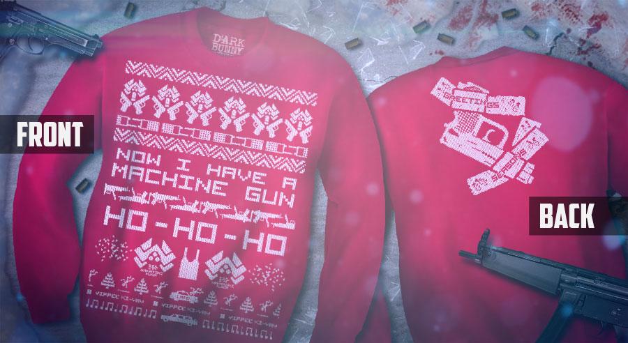 Die Hard Xmas Sweaters by Dark Bunny