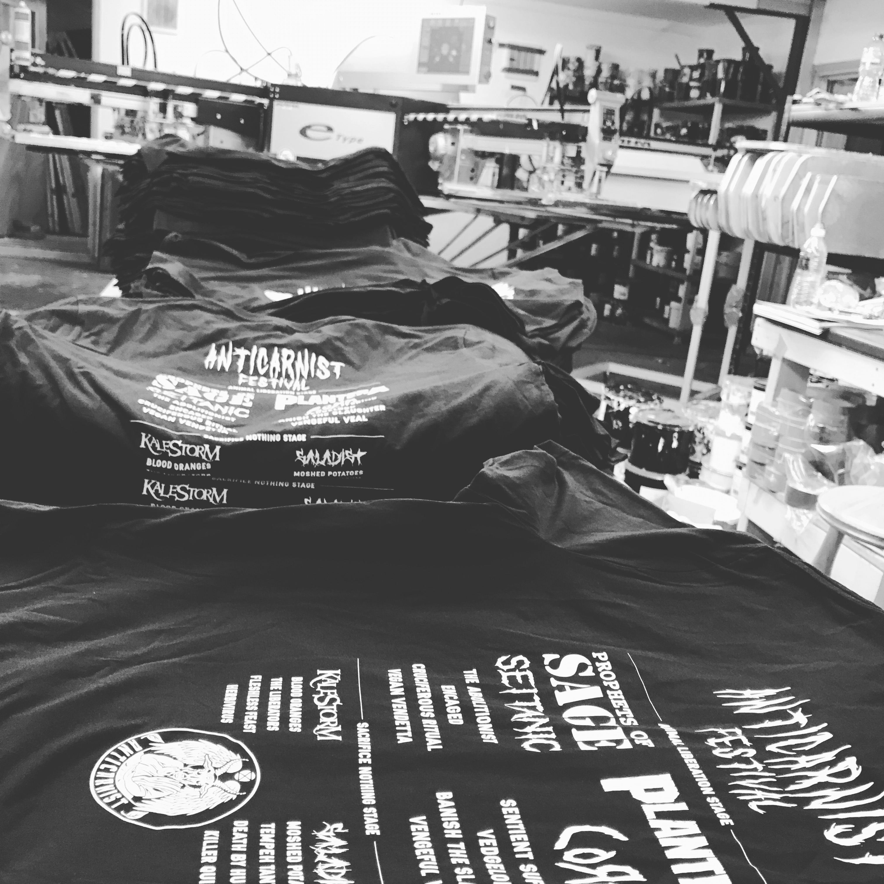 Screen Printed and Embroidered Merchandise