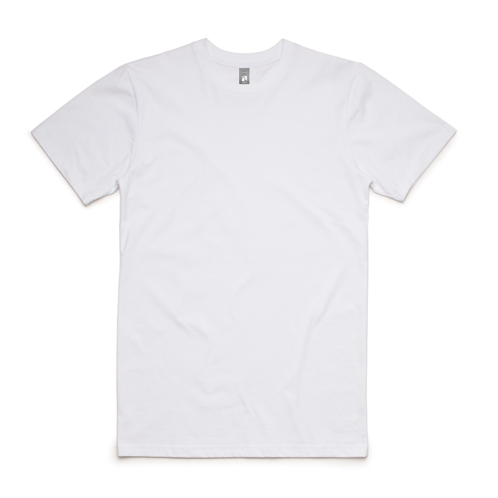 AS Colour Classic White Mens T Shirt