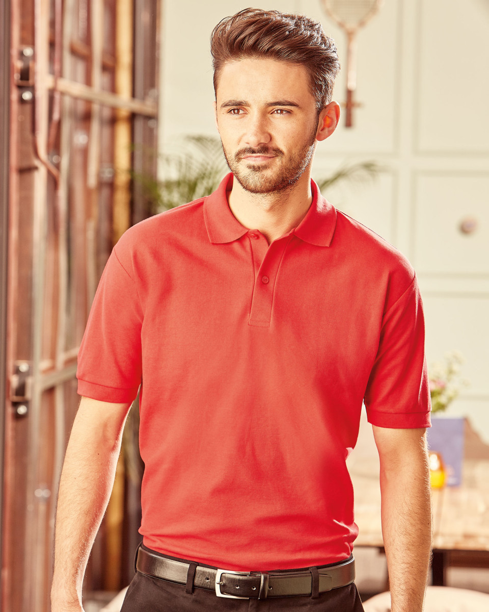 539M Men's Classic Polycotton Polo