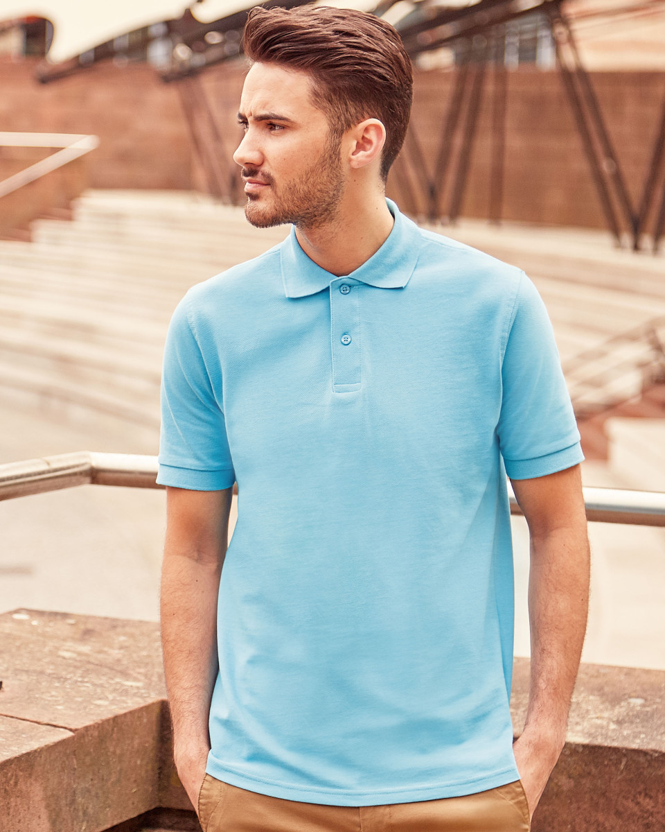 569M Men's Classic Cotton Polo