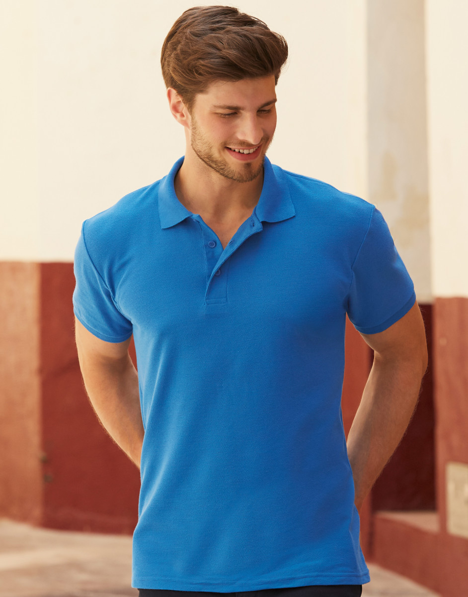 63204 Men's 65/35 Heavyweight Polo