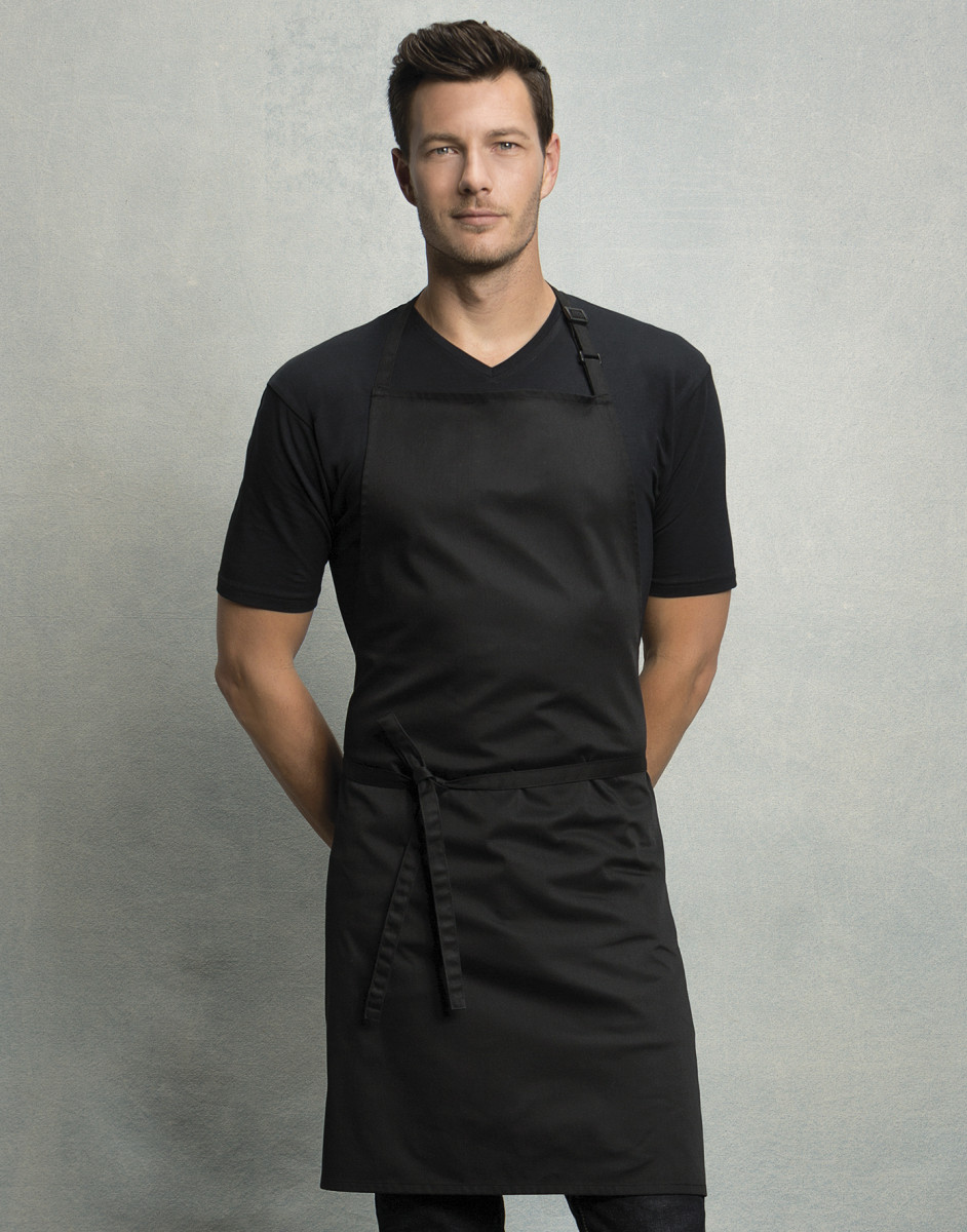 KK517 Superwash Bib Apron (No pocket)