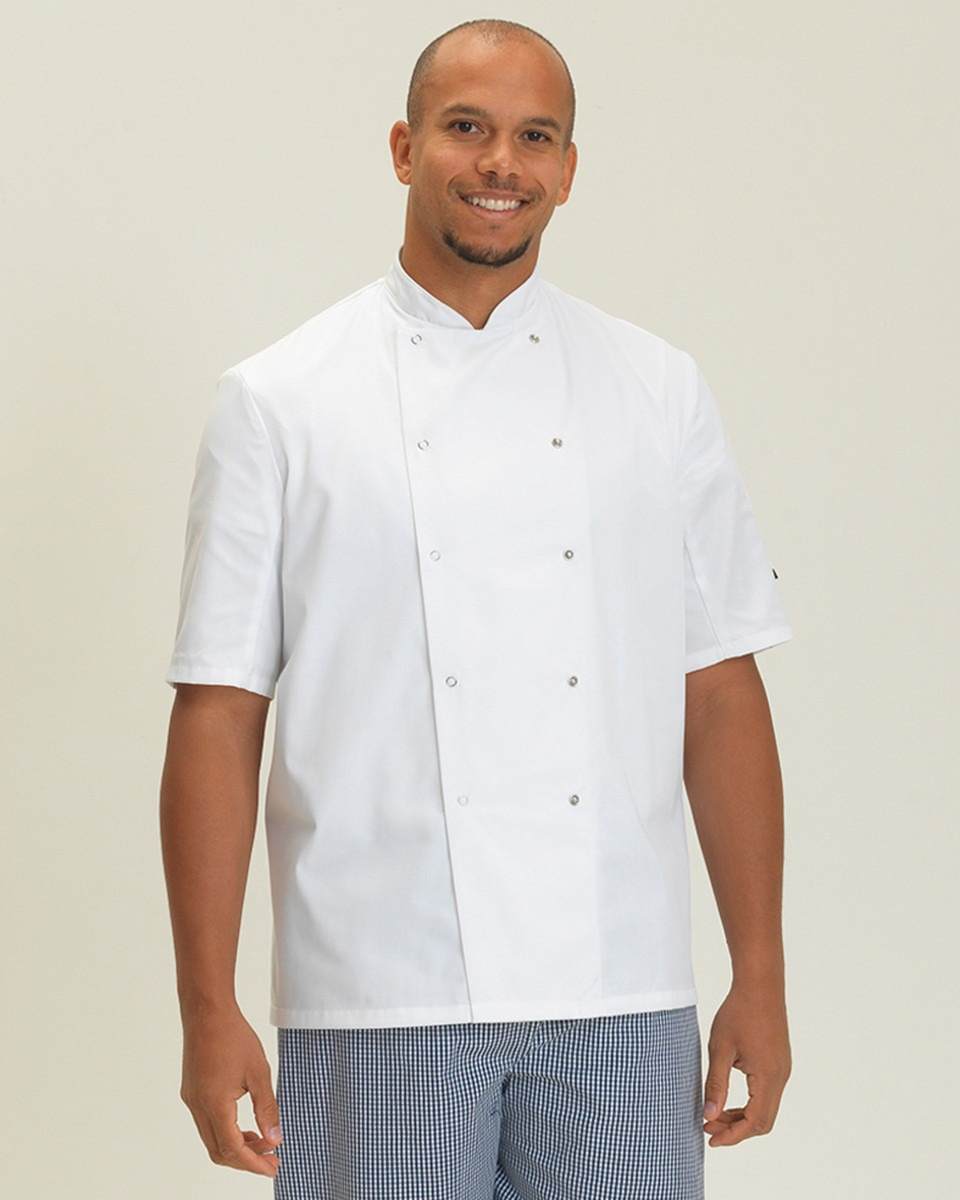 DD08S Short Sleeve Chef's Jacket