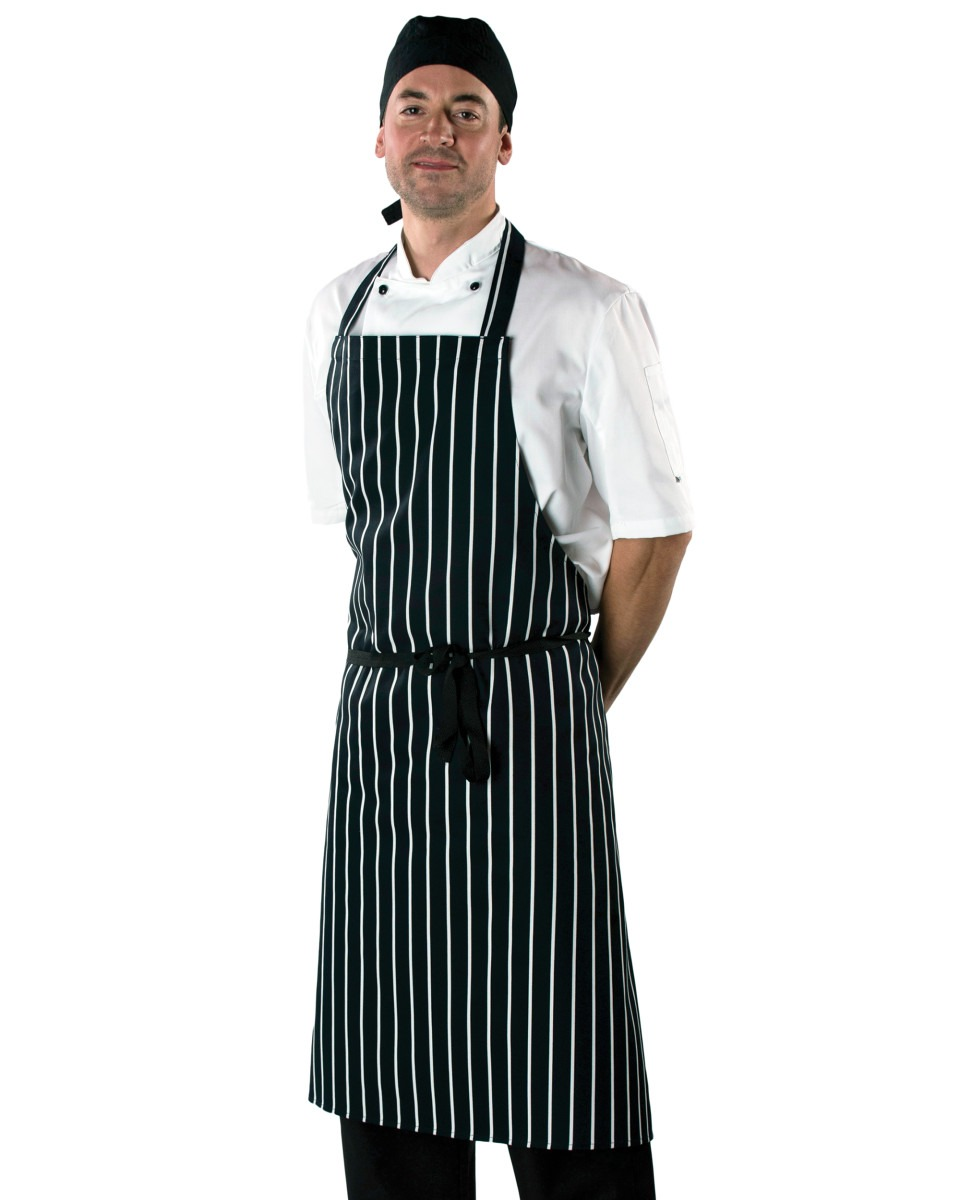DP85 Large Cotton Striped Apron