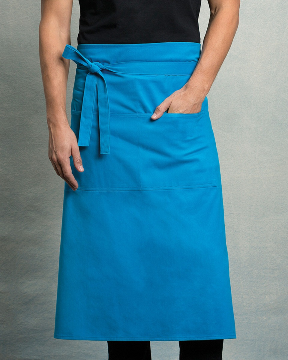 KK514 Unisex Long Bar Apron