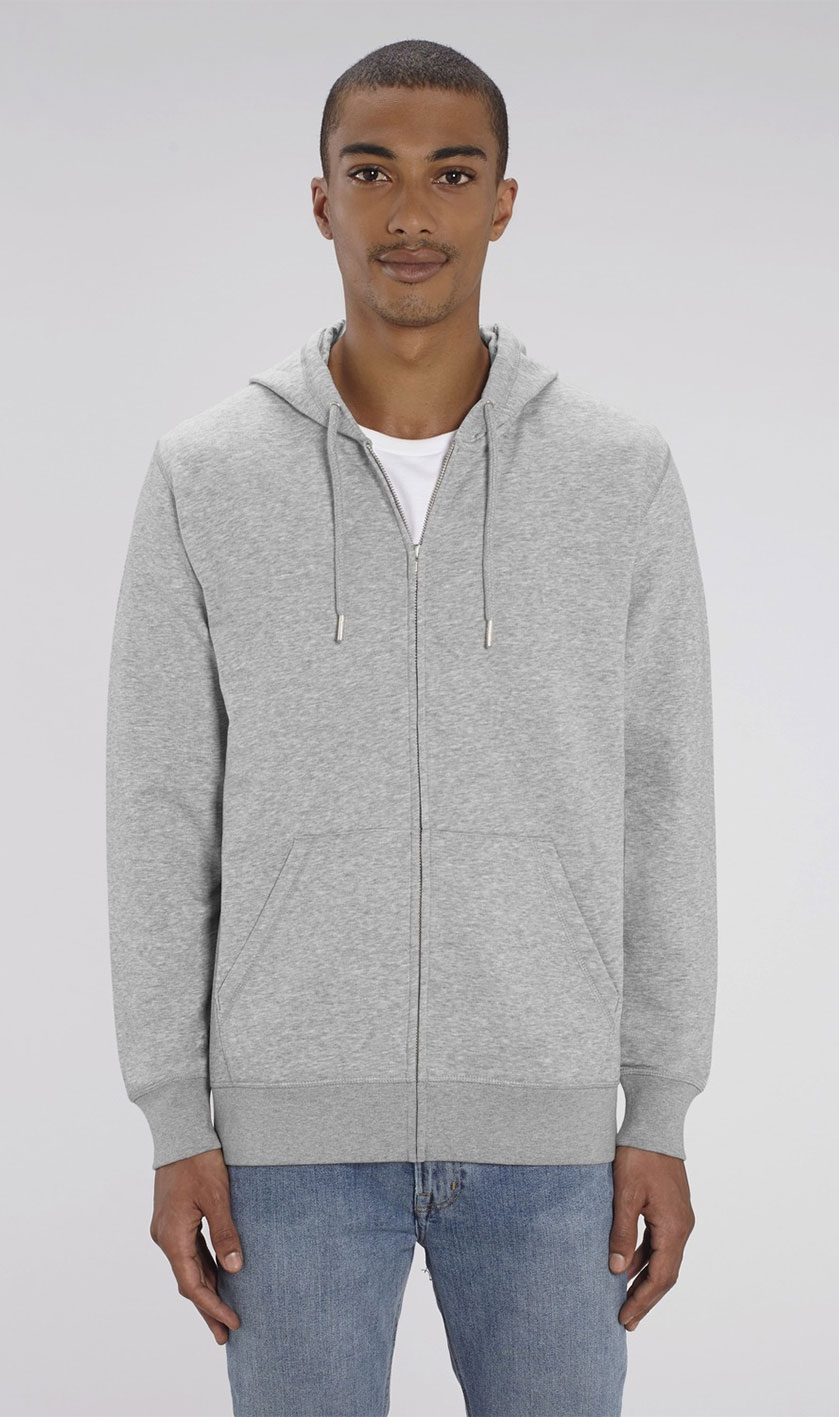 CONNECTOR ZIP-THRU HOODIE