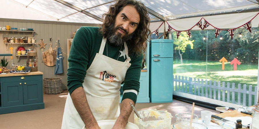Screen Printed Aprons for Stand up to Cancer – Celebrity Bake Off