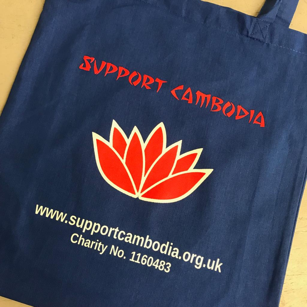 Tote Bags for Support Cambodia