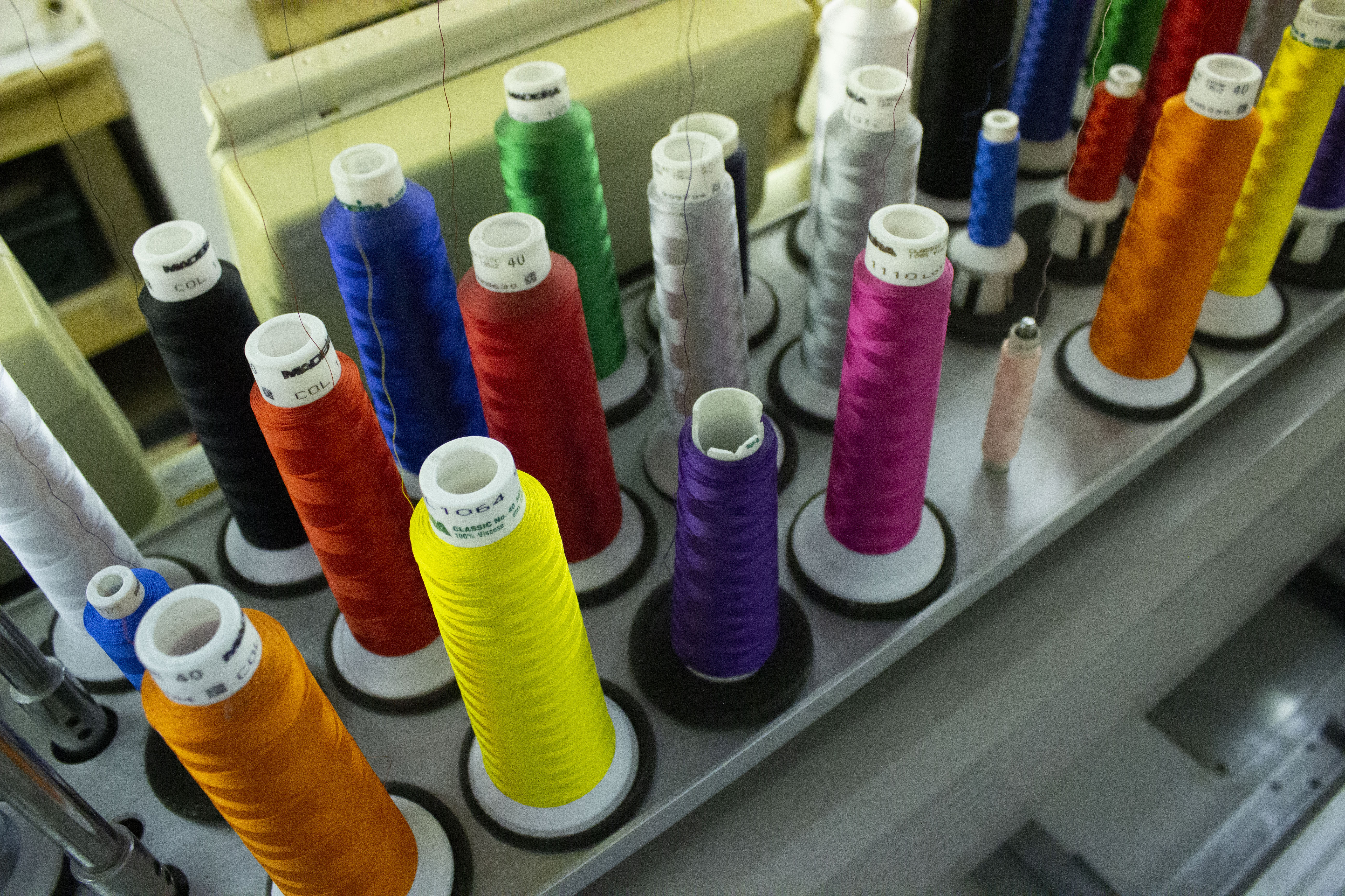 Ethical Embroidery at ESP Merchandise, Norwich