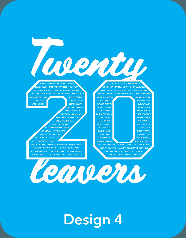 Printed Leavers Hoodies 2020