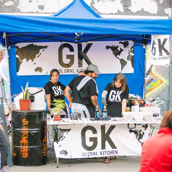 Global Kitchen at the Junkyard Market